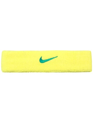 Nike Swoosh Headband Yellow/Teal