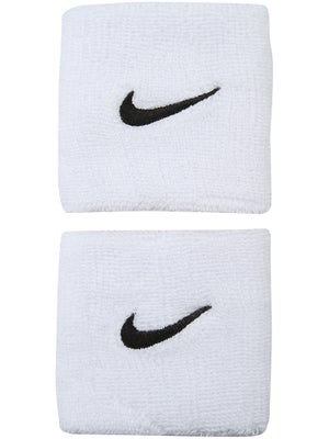 Nike Swoosh Wristband White/Black