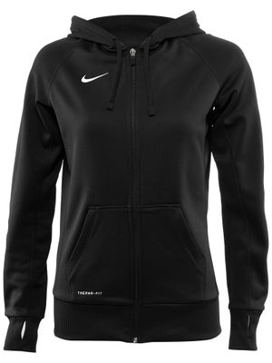 Nike Womens Team Full Zip Fleece Hoodie
