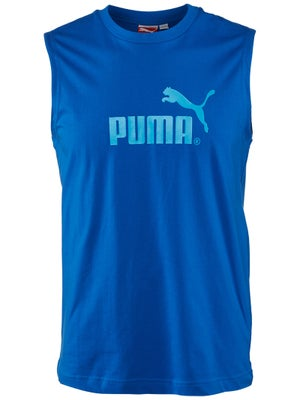 Puma Mens Spring Large Logo Sleeveless Top