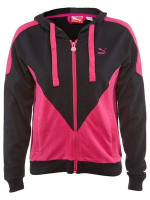 Puma Womens Spring Colorblock Zip Jacket