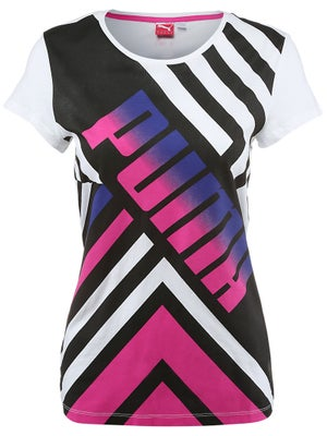 Puma Womens Spring Logo Graphic Tee