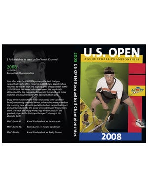 Racquetball US Open DVD 2008