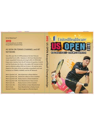 Racquetball US Open DVD 2012