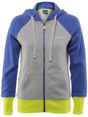 Reebok Womens Fall Fleece Zip Hoodie