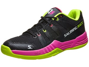 Salming Race R5 Womens Shoes Black/Pink/Fluo