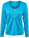 Tail Women's Seaside Glow Janice Zip LS Top