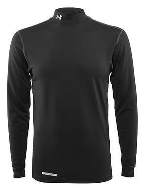 Under Armour Mens Coldgear Fitted LS Mock