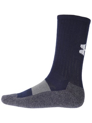 Under Armour Performance Crew Sock Nv/Wh LG