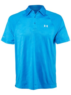 Under Armour Mens Spring Coldback Embossed Polo