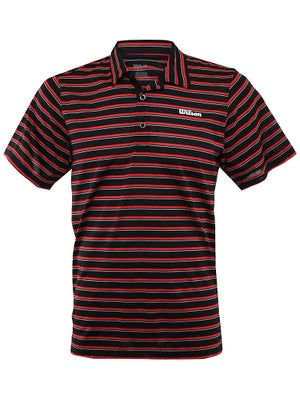 Wilson Mens Spring Core Perf Stripe Polo