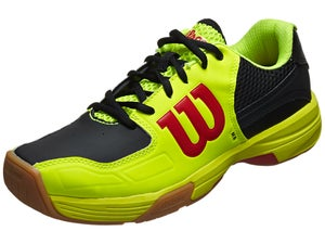 Wilson Recon Racquetball Shoes Yellow/Black/Red